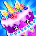 Unicorn Cake Bakery - Sweet Cake Dessert Maker icon