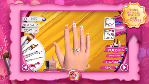Nail Manicure Games For Girls 9.3.2 screenshots 2