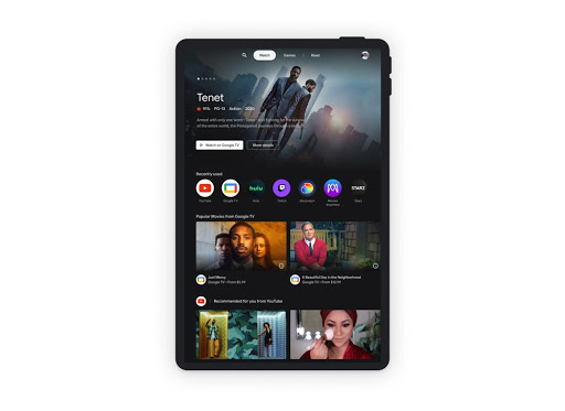 Blast off into Entertainment Space on your Android tablet