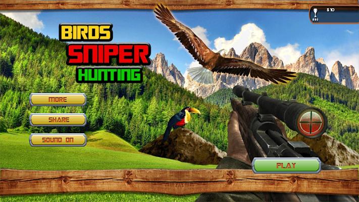 Jungle Birds Sniper Hunting 3D - screenshot