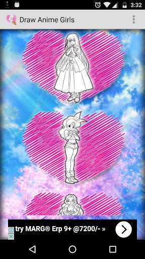 玩免費遊戲APP|下載How to Draw Anime Girls app不用錢|硬是要APP