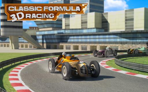 クラシックF1レーシングカー