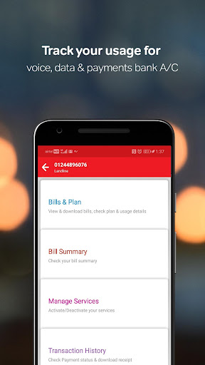 my airtel recharge pay bills bank avail offers apps on google play