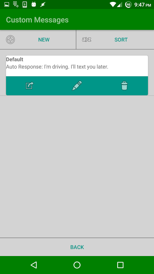 Auto Respond Free- screenshot