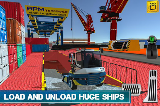 Cargo Crew: Port Truck Driver 1.1 Mod screenshots 3