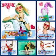 Slogan Photo Collage - Profile Picture Maker
