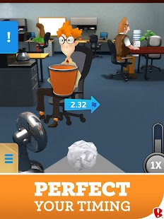 Paper Toss Boss- screenshot thumbnail