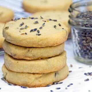 Lavender Shortbread Cookie.