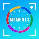 Custom Stamps Date TimeStamp Camera: Moment Stamp icon