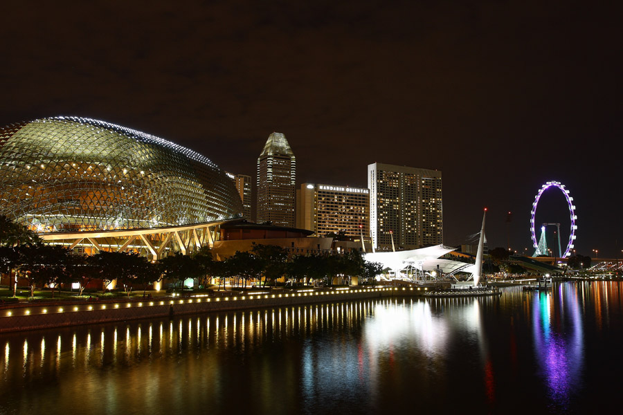 Esplanade by Feriana Ohari - Buildings & Architecture Other Exteriors ( singapore, esplanade )