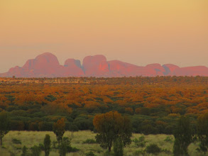 Photo: Year 2 Day 219 - The Olgas, Viewed from Uluru