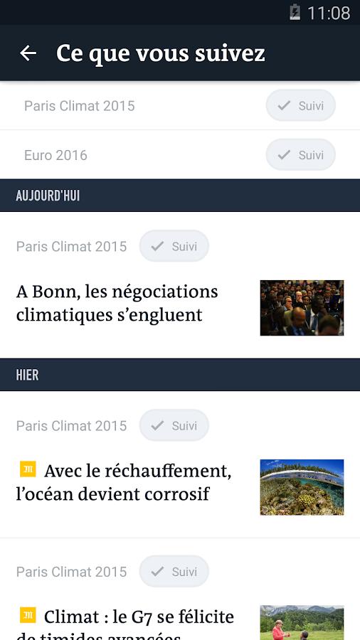 Le Monde, l'info en continu - screenshot