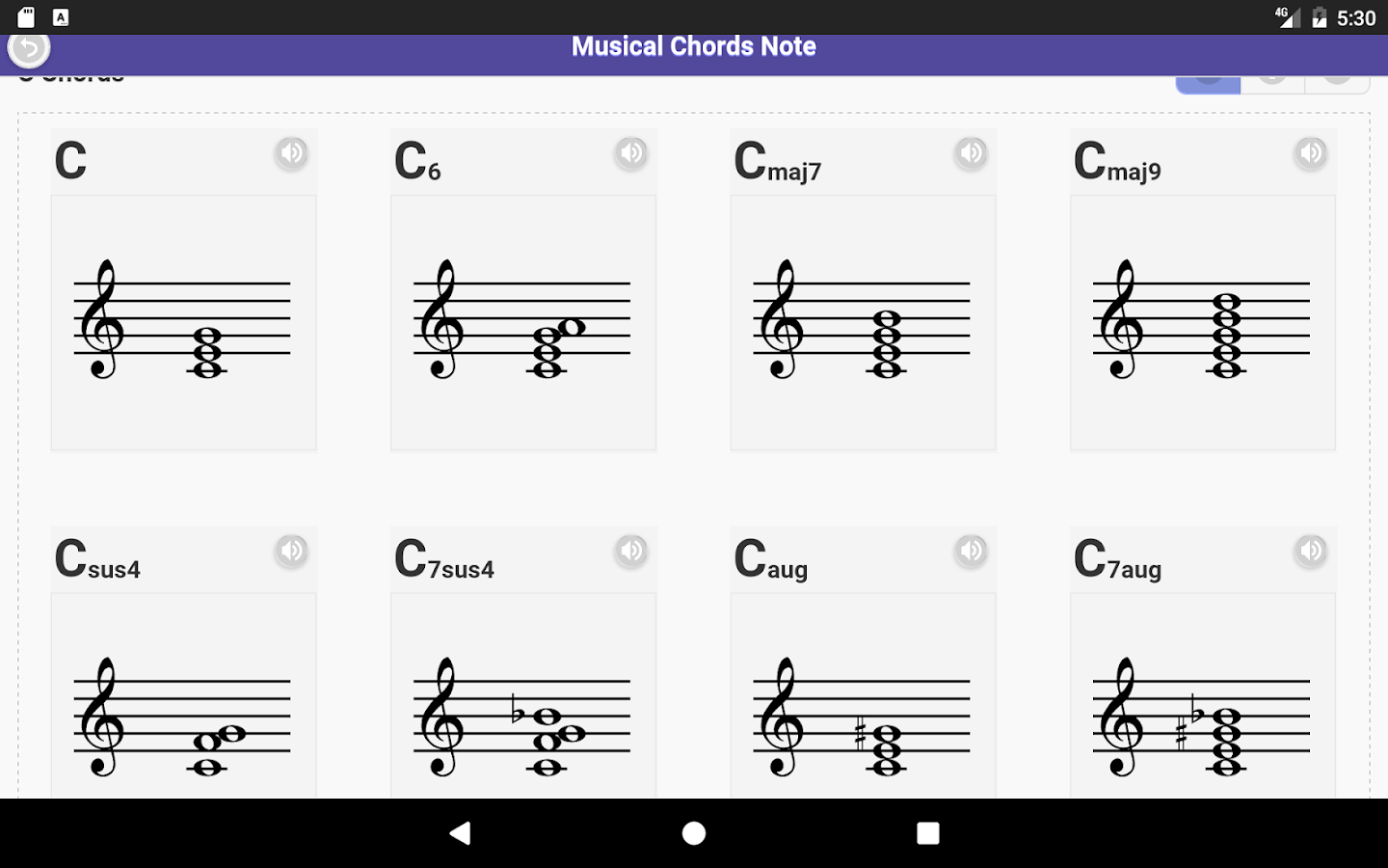 Musical chords note android apps on google play musical chords note screenshot hexwebz Image collections