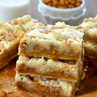 Biscoff Caramel Butter Bars