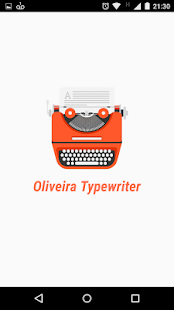 Oliveira Typewriter- screenshot thumbnail