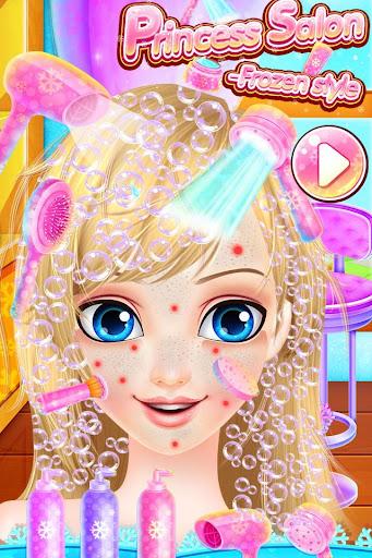 免費下載休閒APP|Princess Salon - Frozen Style app開箱文|APP開箱王