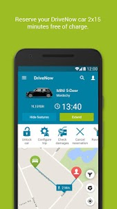 DriveNow Carsharing screenshot 2