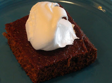 Old Fashioned Molasses Cake Recipe