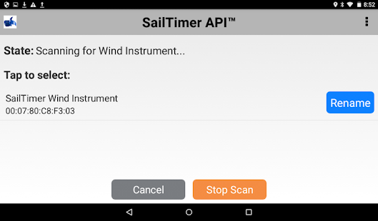 SailTimer API™ - náhled