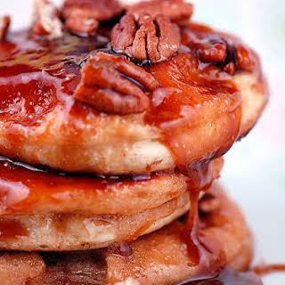 Sticky Bun Pancakes.