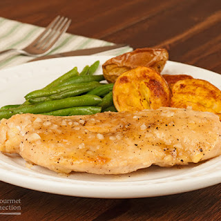 Chicken Breasts with Maple-Garlic Pan Sauce