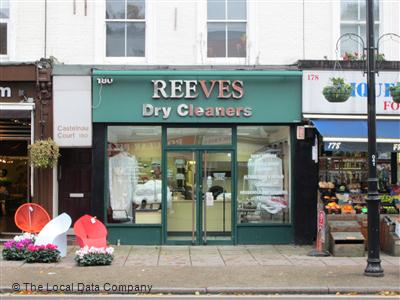 Reeves Dry Cleaners On Castelnau Dry Cleaners In Barnes London