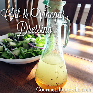 Homemade Oil And Vinegar Dressing Recipes.