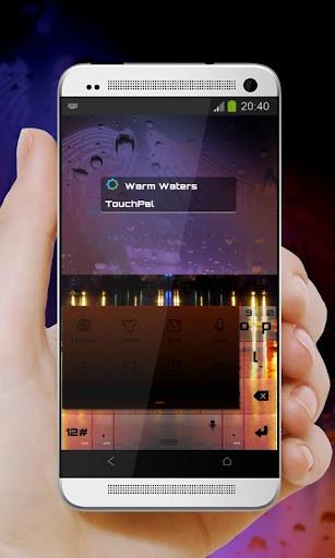 玩免費個人化APP|下載溫暖的水域 TouchPal 議題 app不用錢|硬是要APP