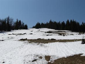 Photo: 23.Ania i Marcin na stoku Wielkiej Rycerzowej.