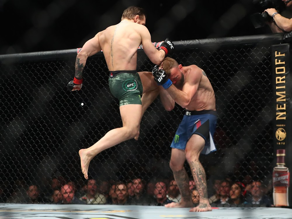 Conor McGregor demolishes Donald Cerrone in 40-second return to UFC octagon - TimesLIVE