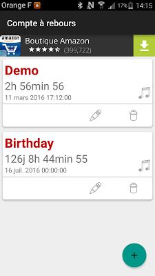 Countdown - screenshot
