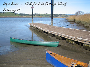 Photo: Low tide at the JFK launch ramp