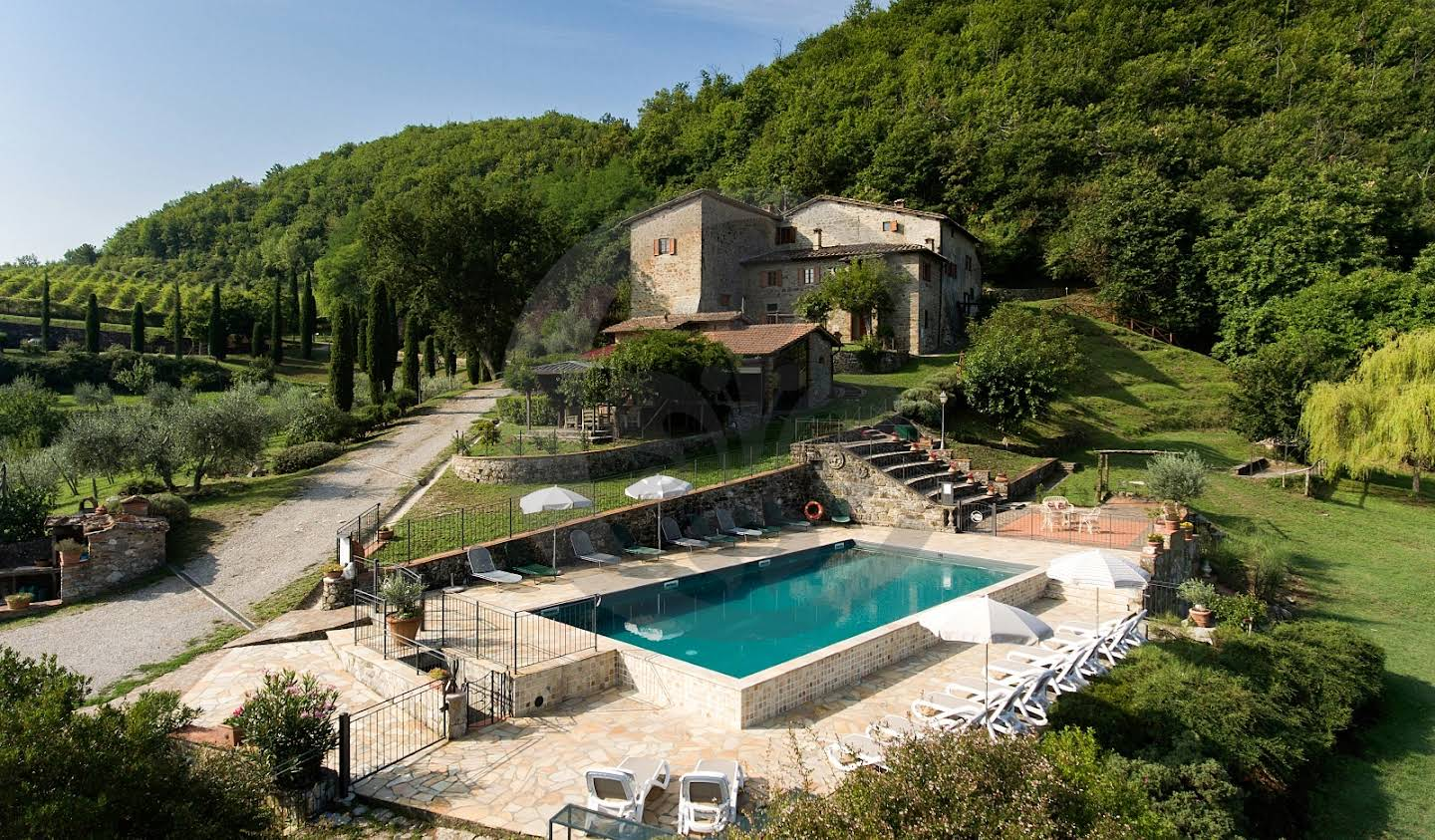 Farm house with garden and pool Greve in Chianti