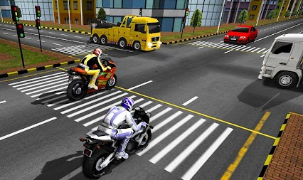 Bike Attack Race : Highway Tricky Stunt Rider APK screenshot thumbnail 13
