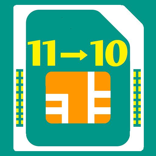 Chuyển đổi sim 11 số thành 10 số