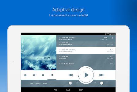 NRG Player music player v2.1.5 Full