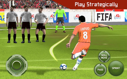 Football shooter : football shooting game 2019 screenshot 2
