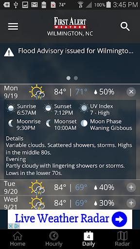 WECT 6 First Alert Weather screenshot 4