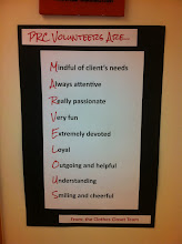 Photo: You can see that the PRC volunteers are....MARVELOUS!