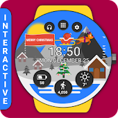 Christmas Watch Face Reborn (by HuskyDev)