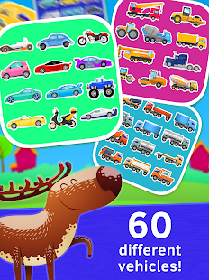 baby car puzzles for kids free screenshot thumbnail