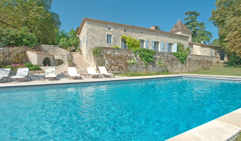Maison avec piscine Montaigu-de-Quercy