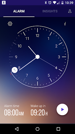 Sleep Time Smart Alarm Clock 1.0.580 screenshot 108335