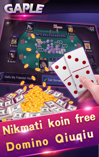 Domino gaple 99 domino kiukiu remi capsasusun 1.3.19 screenshots 4