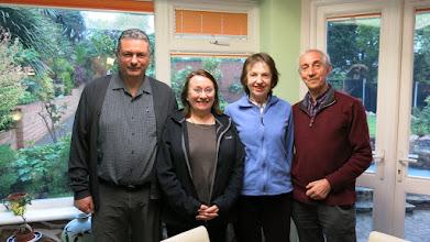 Photo: Plate winners - Peter Lindon, Dee Lindon, Celia Oram, & Derek Oram