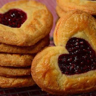 Raspberry Butter Cookies Recipe & Video.