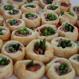 Asparagus & Ham Spirals