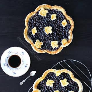 Saskatoon Berry Pie.