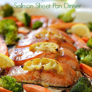 Honey Glazed Sheet Pan Dinner