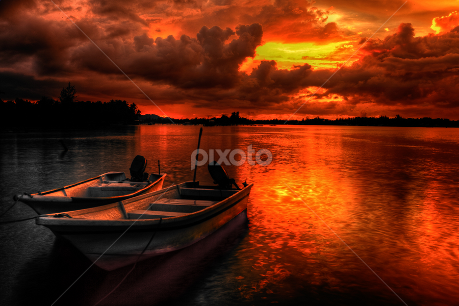 Not The Same by Lawrence Chung - Landscapes Sunsets & Sunrises (  )